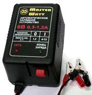 Зарядное 6В и 12В для аккумулятора до эхолота,  детского электромобиля